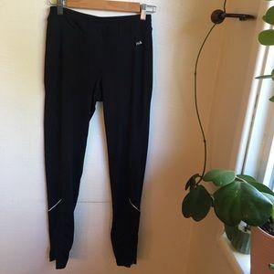Fila reflective spandex pants